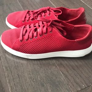 Women's cole Haan grandpro sneakers 7.5 red